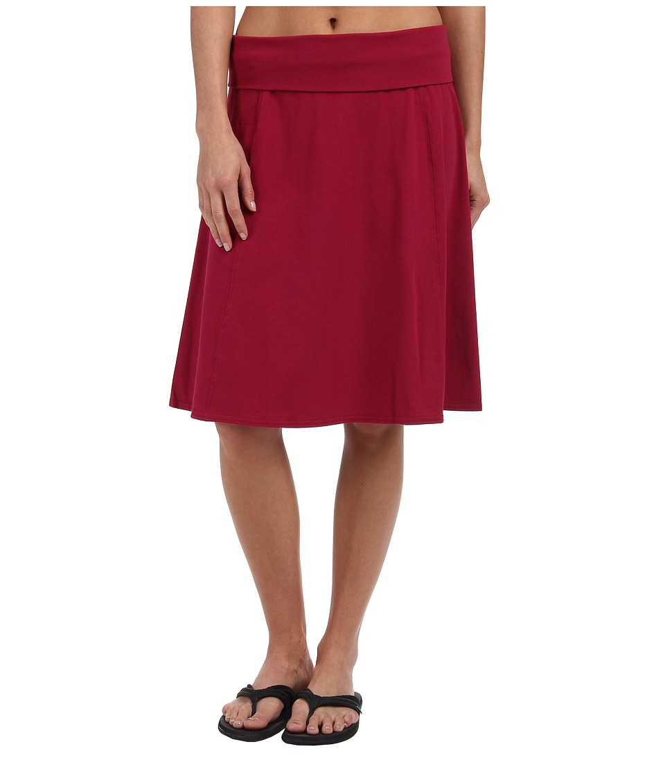 Royal Robbins - Essential Rollover Skirt (Raspberry) Women