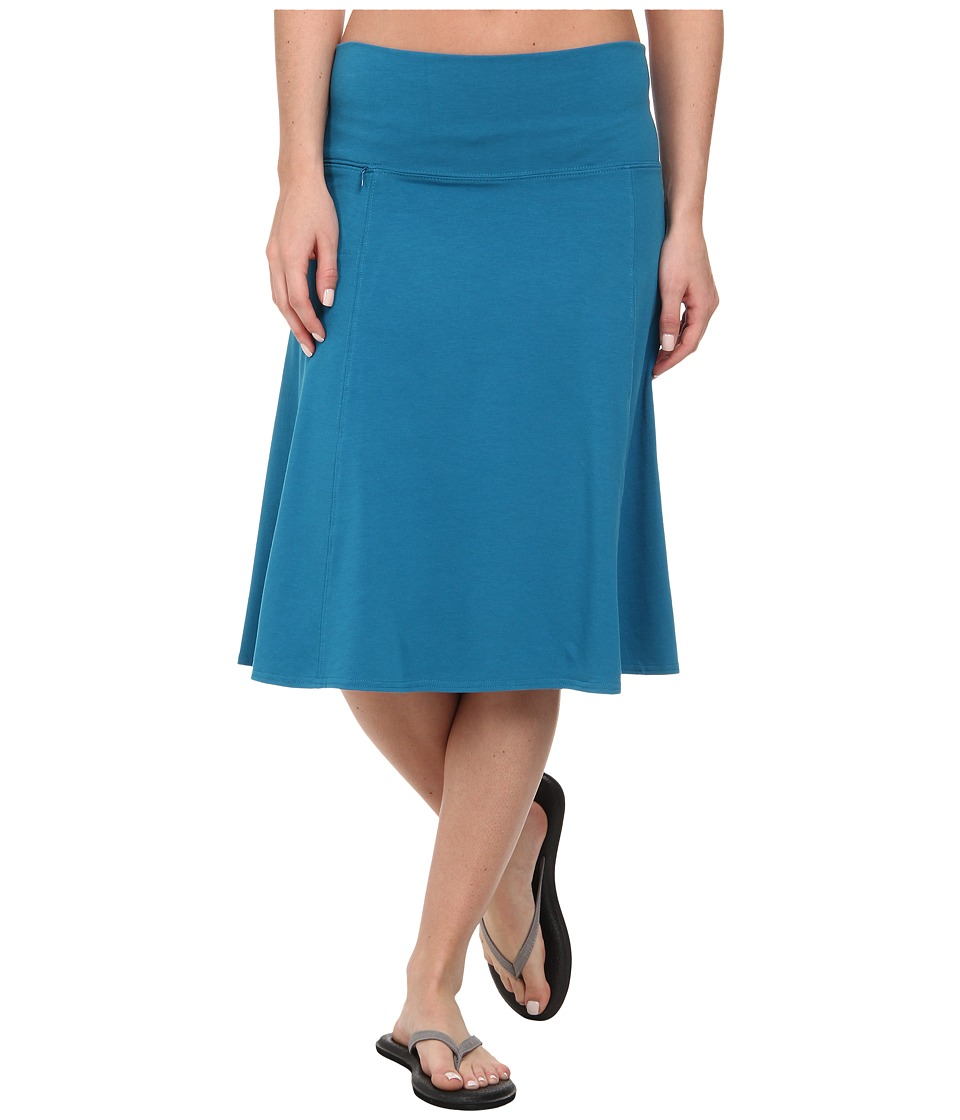 Royal Robbins - Essential Rollover Skirt (Deep Sea) Women's Skirt