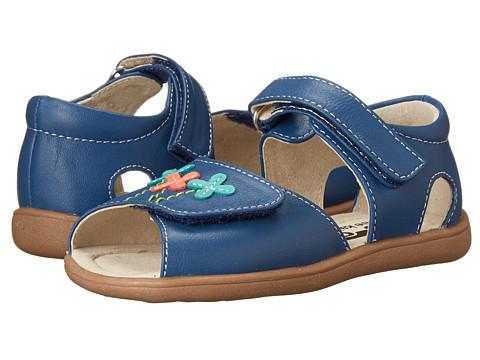 See Kai Run Kids - Ginny (Toddler) (Blue) Girls Shoes