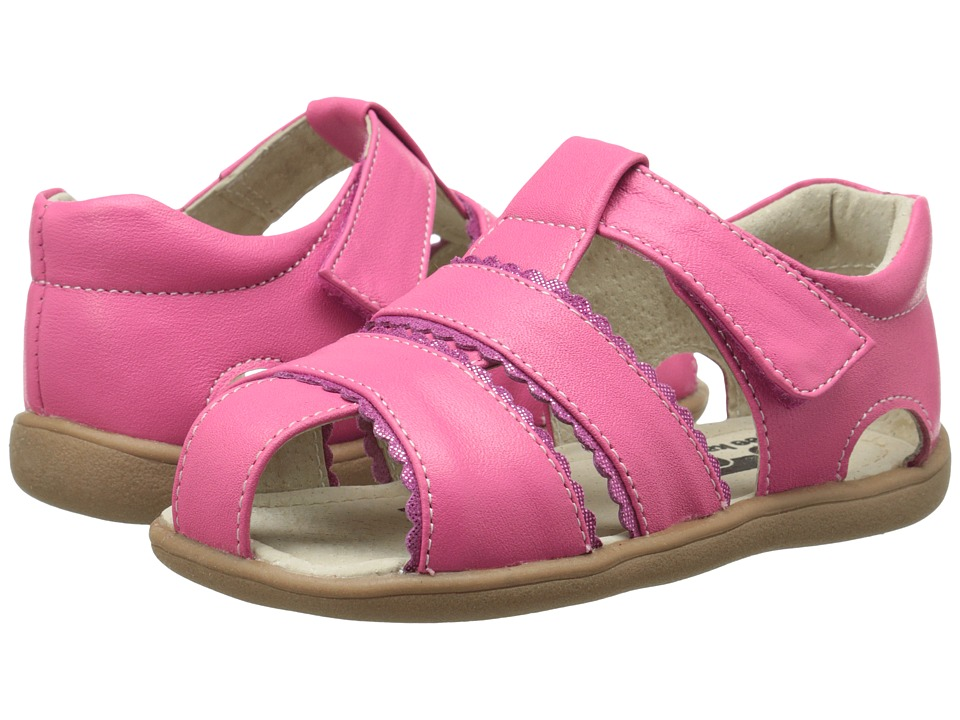 See Kai Run Kids - Gloria II (Toddler) (Hot Pink) Girls Shoes