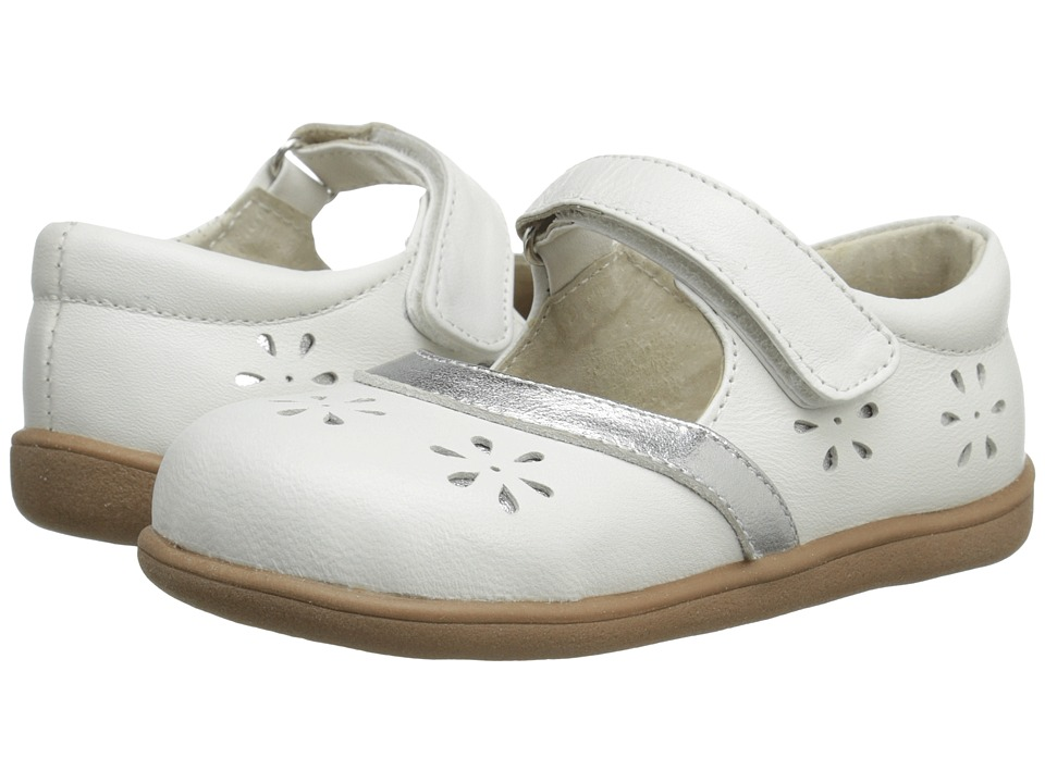 See Kai Run Kids - Leeann (Toddler) (White) Girls Shoes