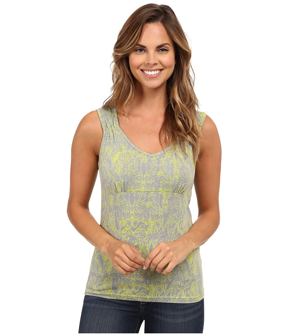 Royal Robbins - Essential Henna Tank (Lime Zest) Women's Sleeveless