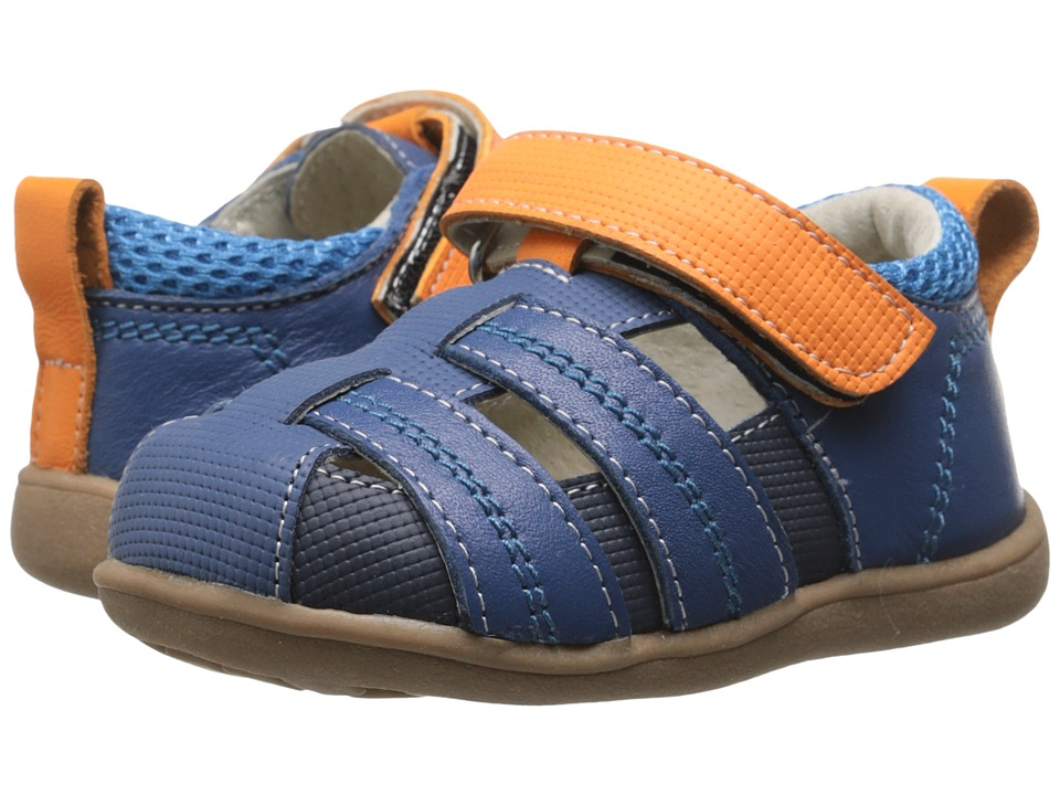 See Kai Run Kids - Ryan II (Toddler) (Blue) Boys Shoes