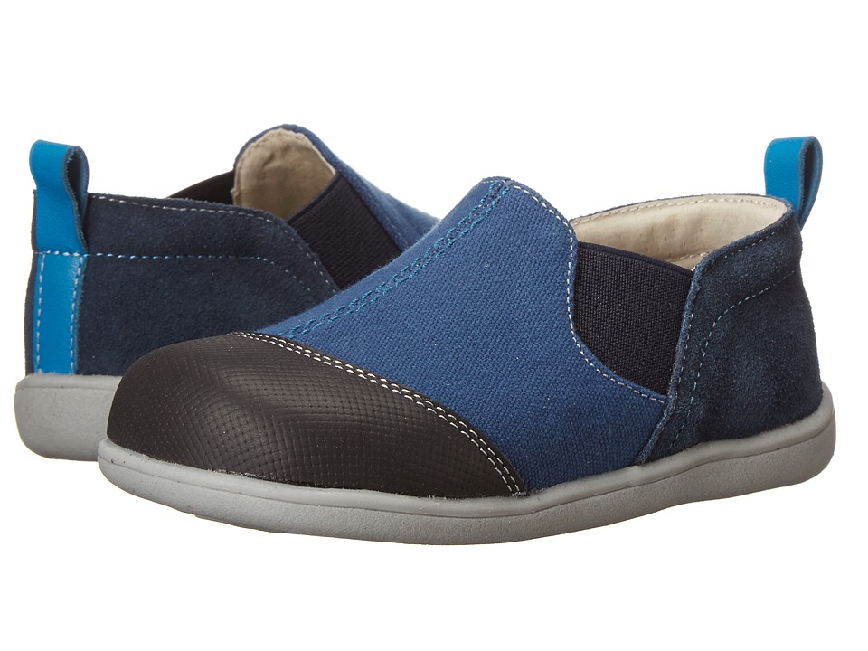 See Kai Run Kids - Miles (Toddler) (Blue) Boys Shoes