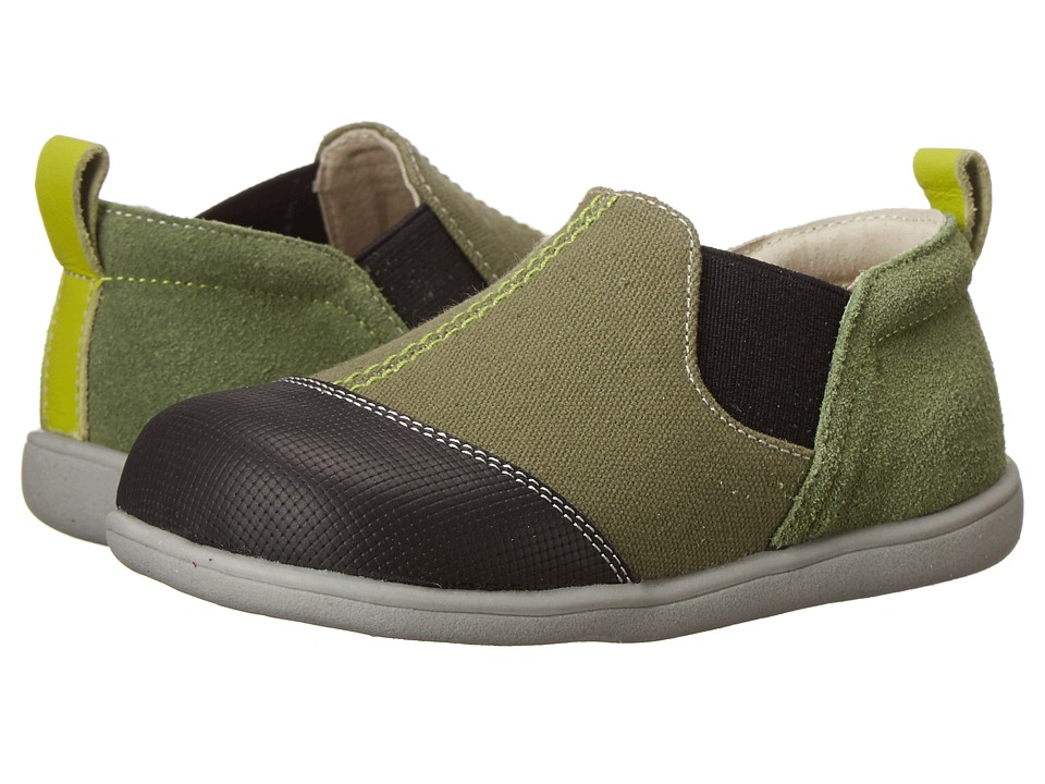 See Kai Run Kids - Miles (Toddler) (Green) Boys Shoes