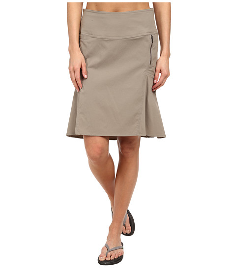 Royal Robbins - Discovery Strider Skirt (Light Taupe) Women