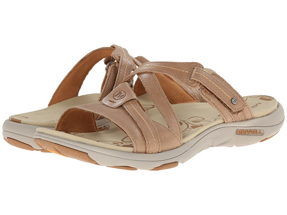 Merrell - Sway Leather (Sand Dollar) Women's Sandals