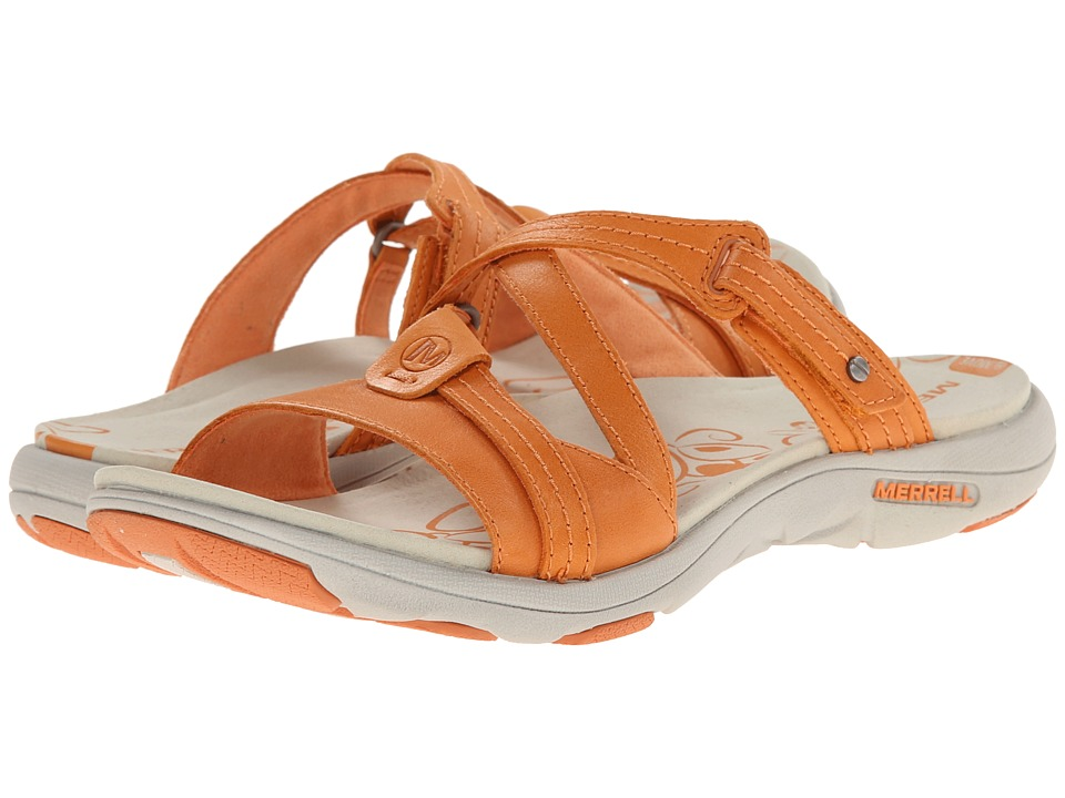 Merrell - Sway Leather (Cantaloupe) Women's Sandals