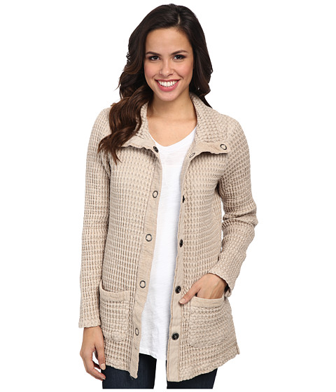 Mod-o-doc - Monster Rag Fitted Cardigan (Dune) Women's Sweater