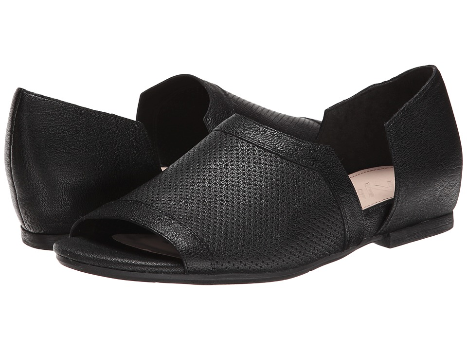 Naya - Elle (Black Leather) Women's Sandals
