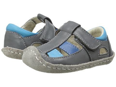 See Kai Run Kids - Luke II (Infant) (Gray) Boys Shoes