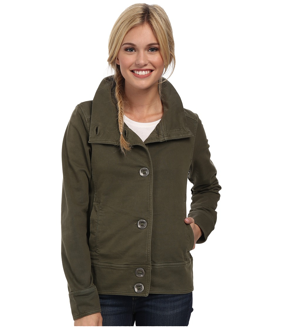 Prana - Candice Jacket (Cargo Green) Women's Jacket