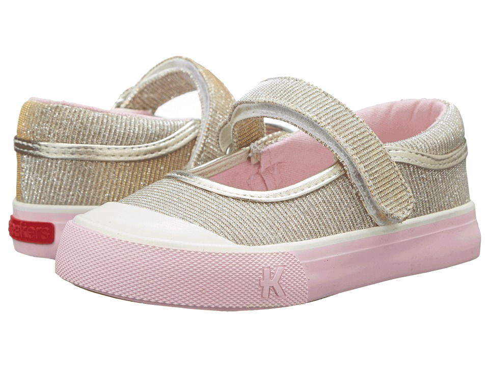 See Kai Run Kids - Florence (Toddler/Little Kid) (Gold) Girls Shoes