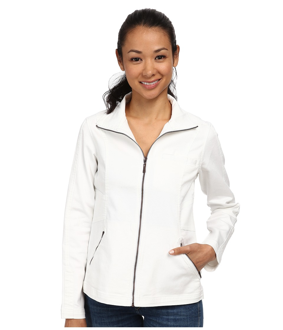 Prana - Kiana Jacket (White) Women's Coat