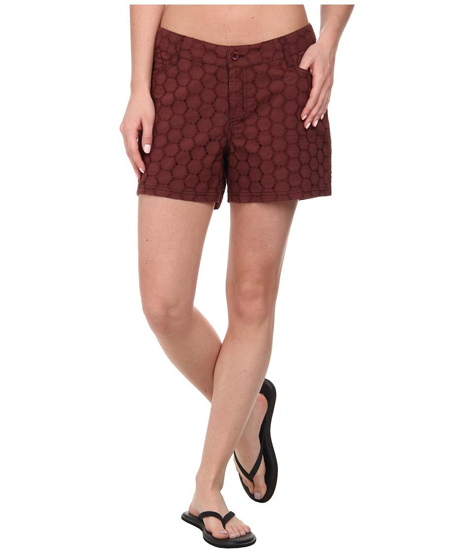 Prana - Michelle Short (Raisin) Women's Shorts