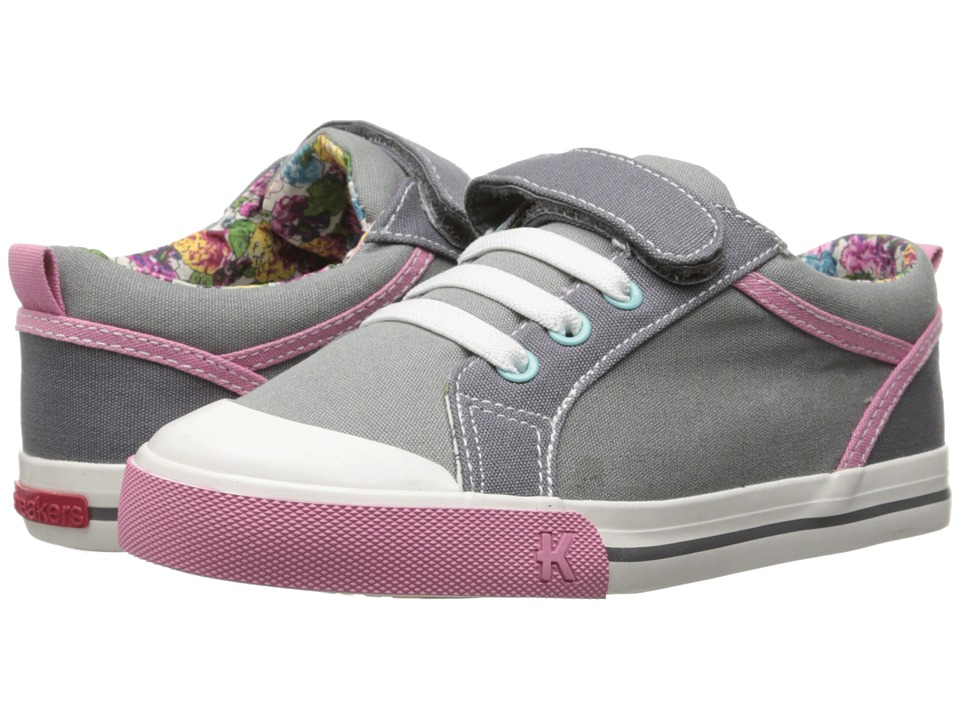 See Kai Run Kids - Noel (Toddler/Little Kid) (Gray) Girls Shoes