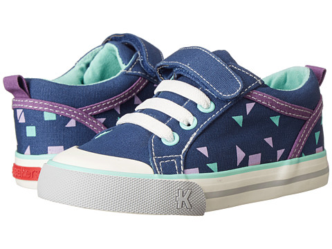 See Kai Run Kids - Noel (Toddler/Little Kid) (Navy) Girls Shoes