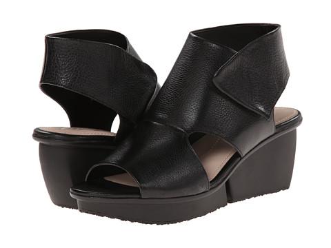 Naya - Seeker (Black Leather) Women's Wedge Shoes