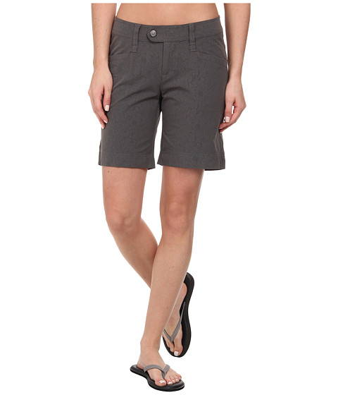 Royal Robbins - Embossed Discovery Short (Obsidian) Women's Shorts