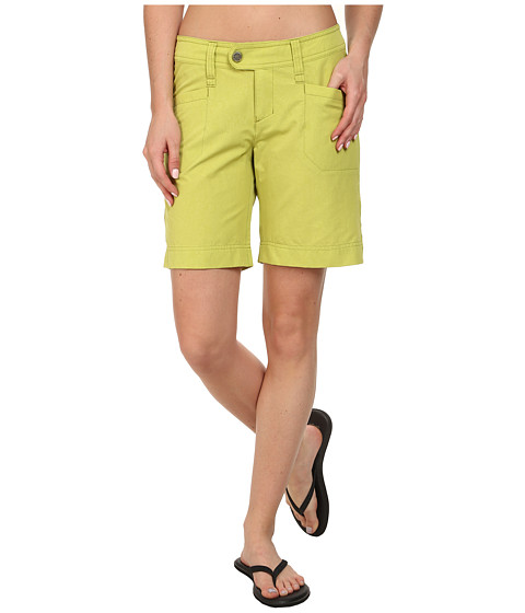 Royal Robbins - Embossed Discovery Short (Lime Zest) Women's Shorts