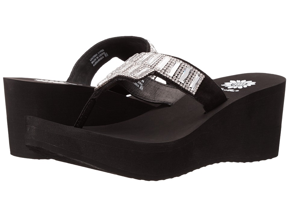 Yellow Box - Alexandria (Black) Women's Sandals