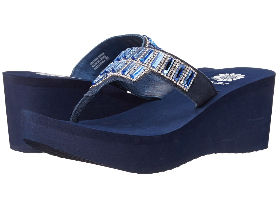 Yellow Box - Alexandria (Navy) Women's Sandals