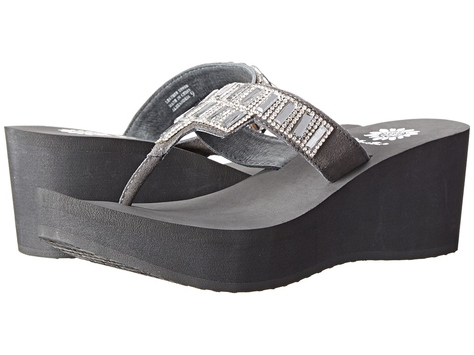 Yellow Box - Alexandria (Smoke) Women's Sandals