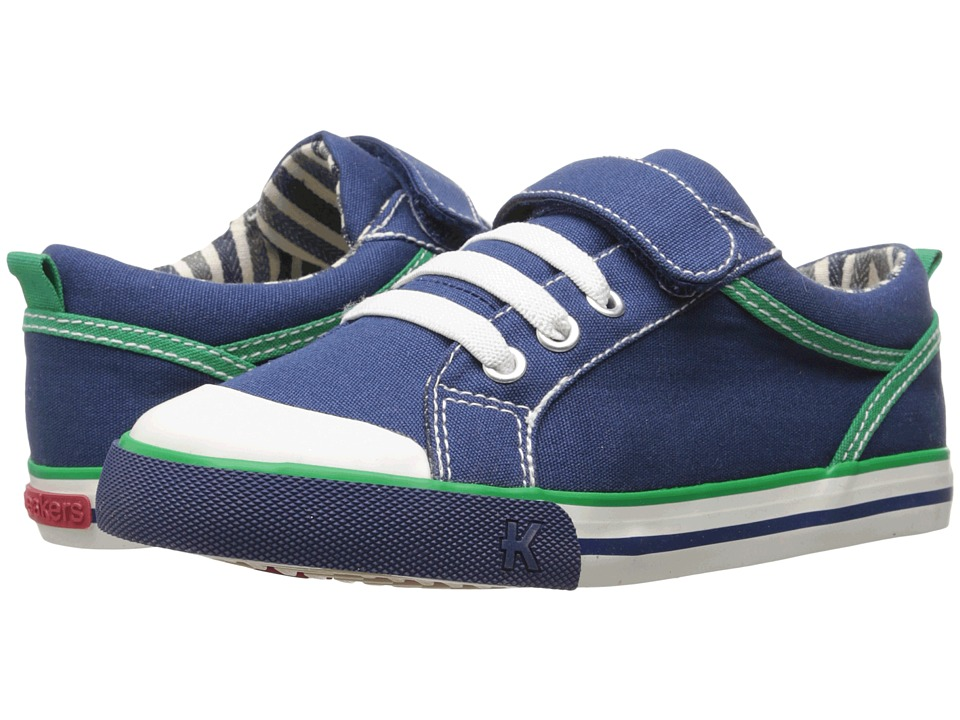 See Kai Run Kids - Anders (Toddler/Little Kid) (Navy) Boys Shoes