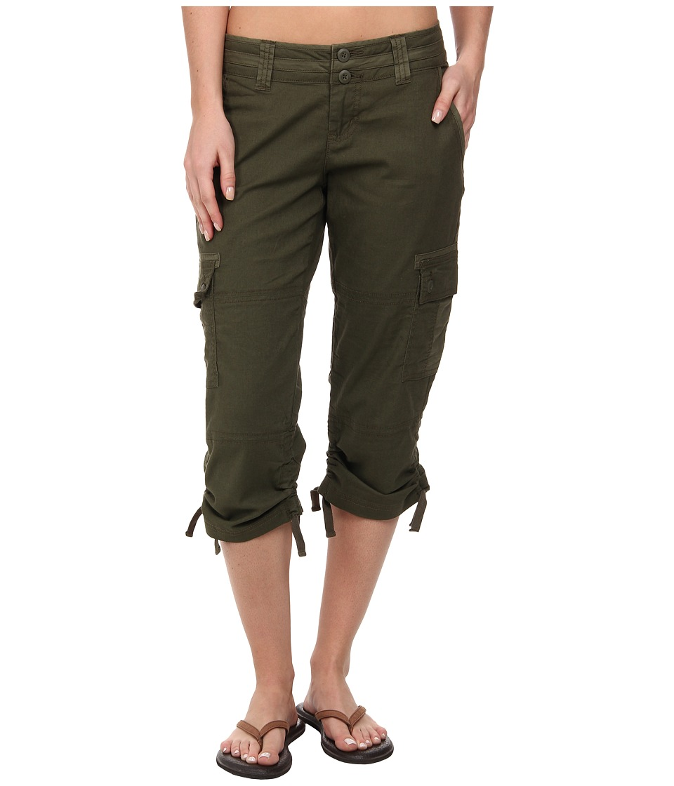 Prana - Kelly Capri (Cargo Green) Women's Capri