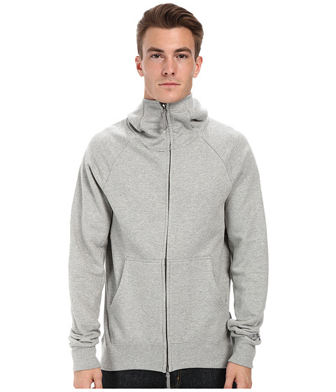 Nike SB - SB Everett Full Zip Hoodie (Dark Grey Heather/Dark Steel Grey) Men