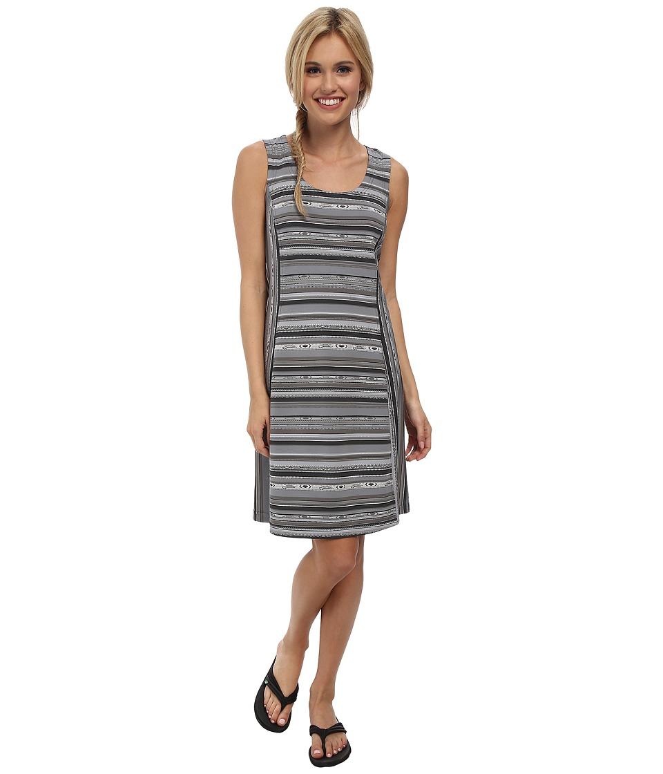 Royal Robbins - Impulse Stripe Dress (Obsidian) Women's Dress