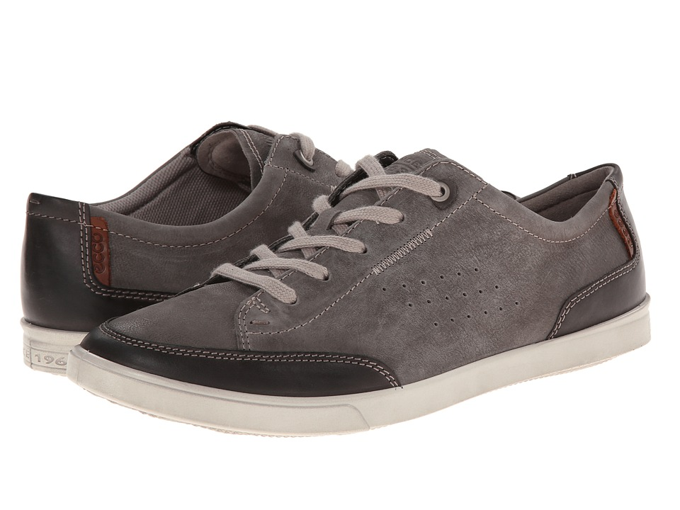 ECCO - Collin Casual Tie (Licorice/Warm Grey) Men's Lace up casual Shoes