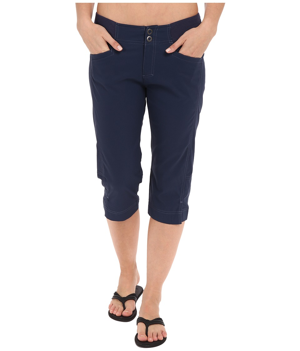 Royal Robbins - Jammer Capri (Deep Blue) Women's Capri