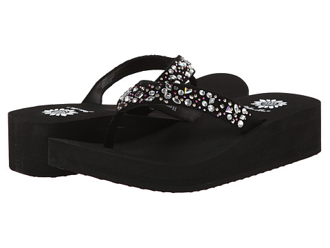 Yellow Box - Jeannine (Black) Women's Sandals