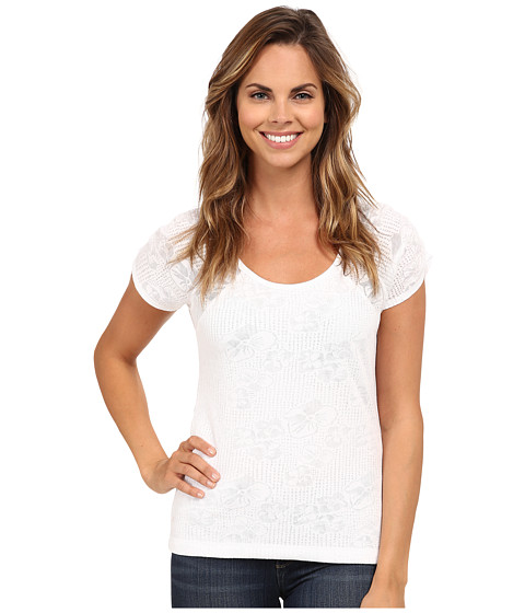 Royal Robbins - Release Tee (White) Women's T Shirt