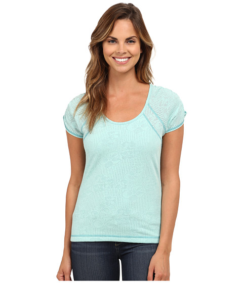 Royal Robbins - Release Tee (Light Aqua) Women's T Shirt