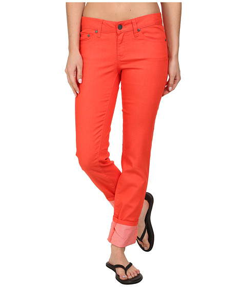 Prana - Kara Jean (Neon Orange) Women's Jeans