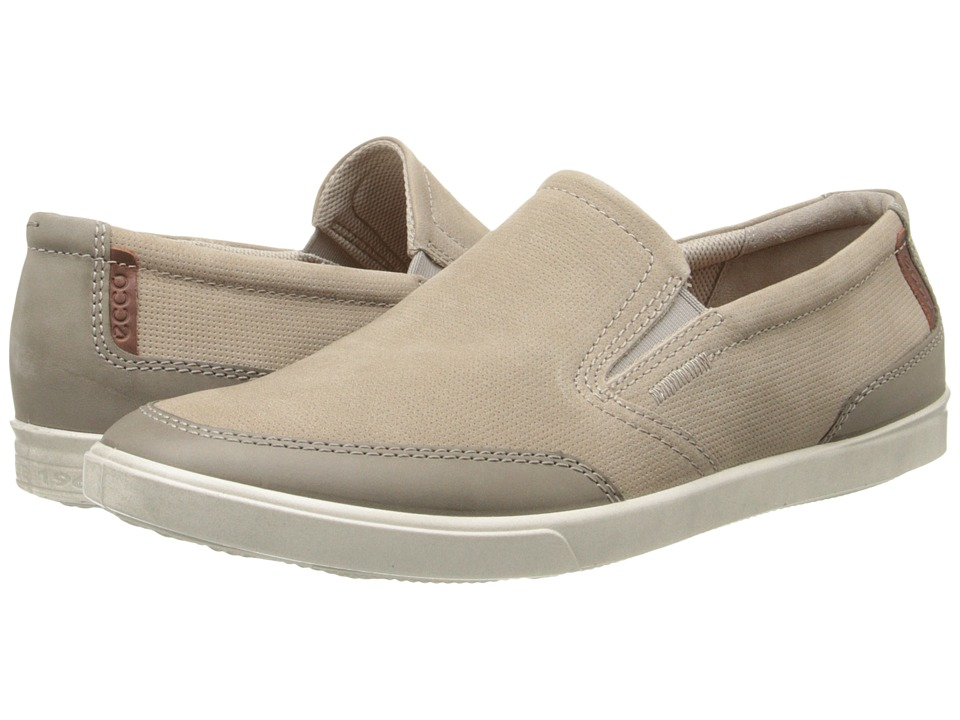 ECCO - Collin Casual Slip On (Warm Grey/Moon Rock) Men