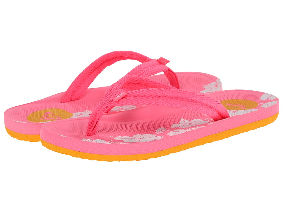 Roxy Kids - Volcano (Little Kid/Big Kid) (Pink) Girls Shoes