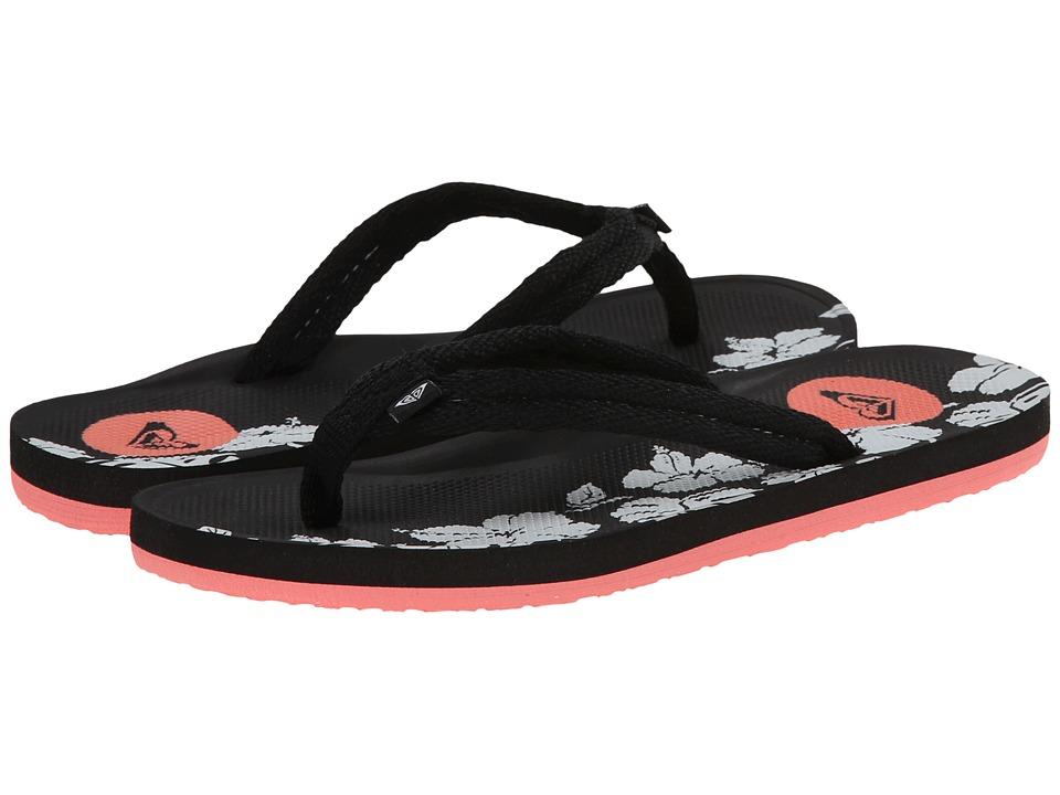 Roxy Kids - Volcano (Little Kid/Big Kid) (Black) Girls Shoes