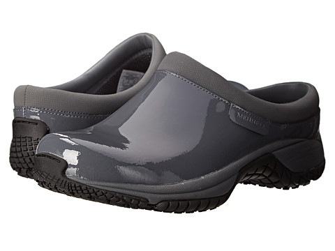 Merrell - Encore Slide Pro Grip (Castle Rock Patent) Women's Slip on Shoes
