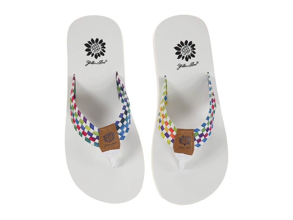 Yellow Box - Soleil (White) Women's Sandals