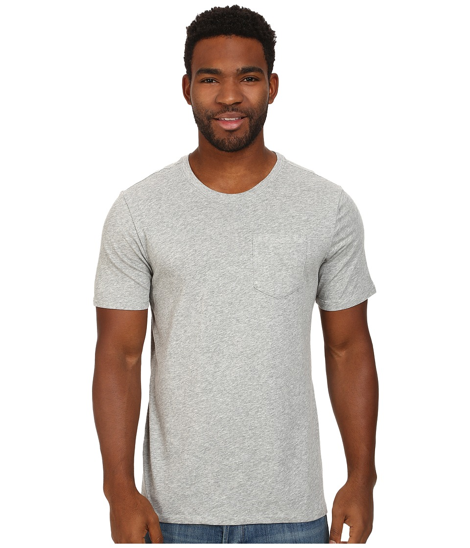 Nike SB - SB Dri-FIT Solid Pocket Tee (Dark Grey Heather/Dark Grey Heather) Men's T Shirt