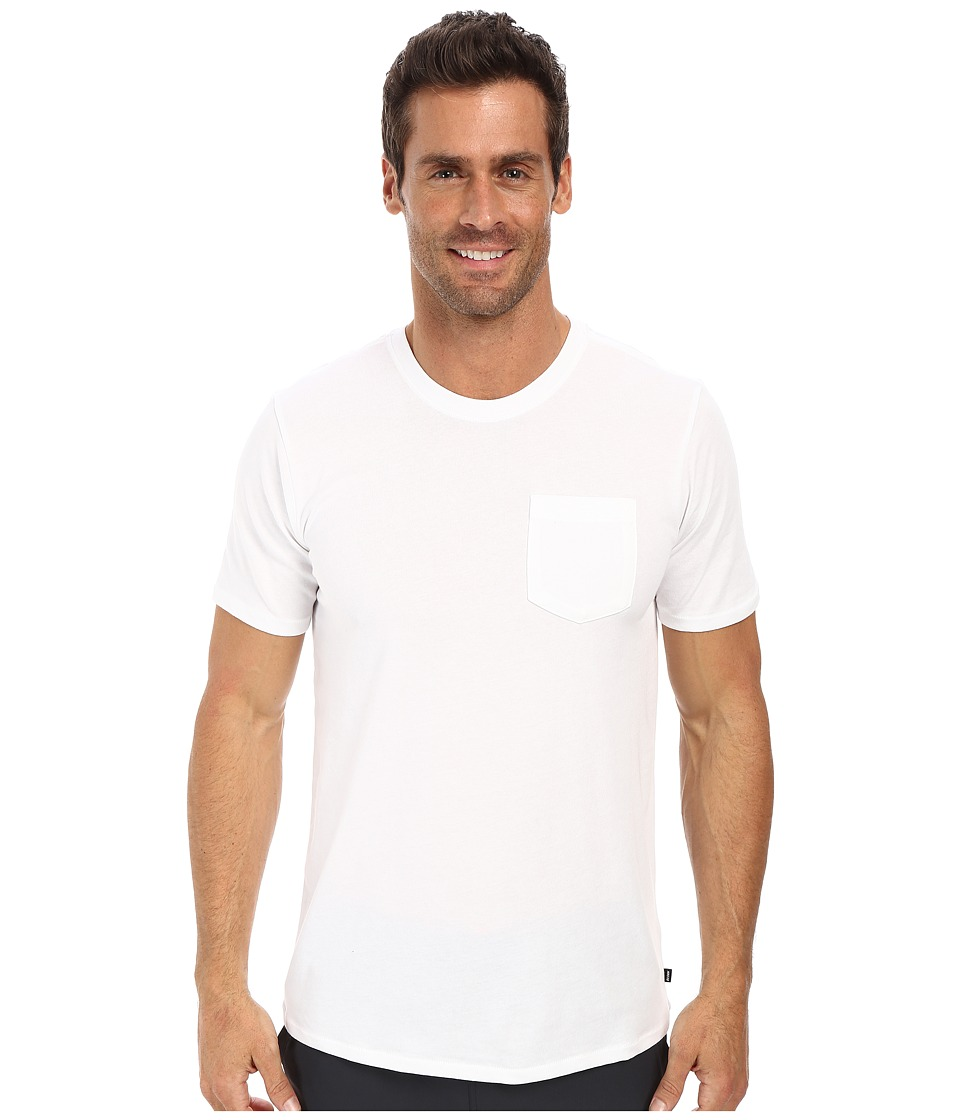 Nike SB - SB Dri-FIT Solid Pocket Tee (White/White) Men