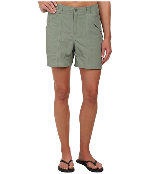 Royal Robbins - Backcountry Short (Canteen Green) Women