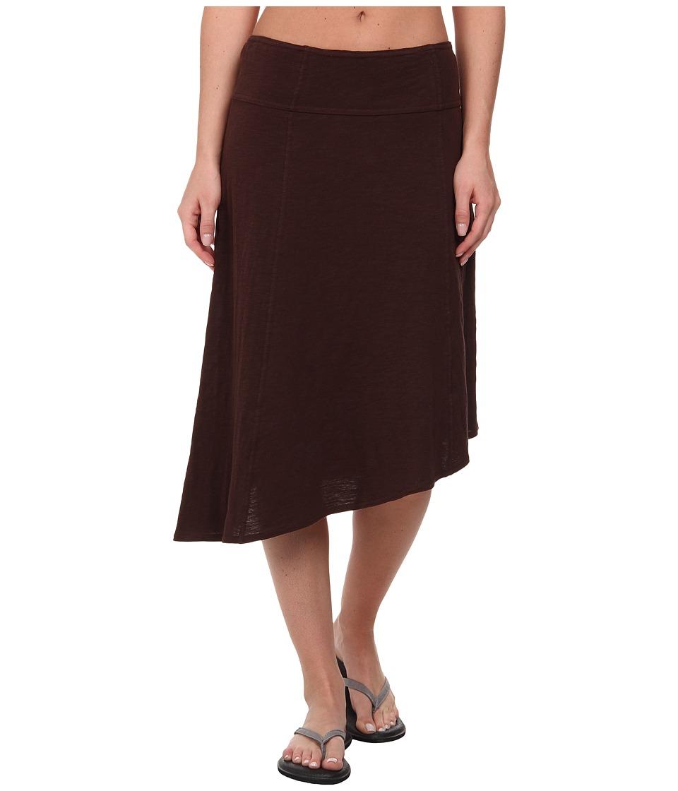 Prana - Jacinta Skirt (Expresso) Women's Skirt