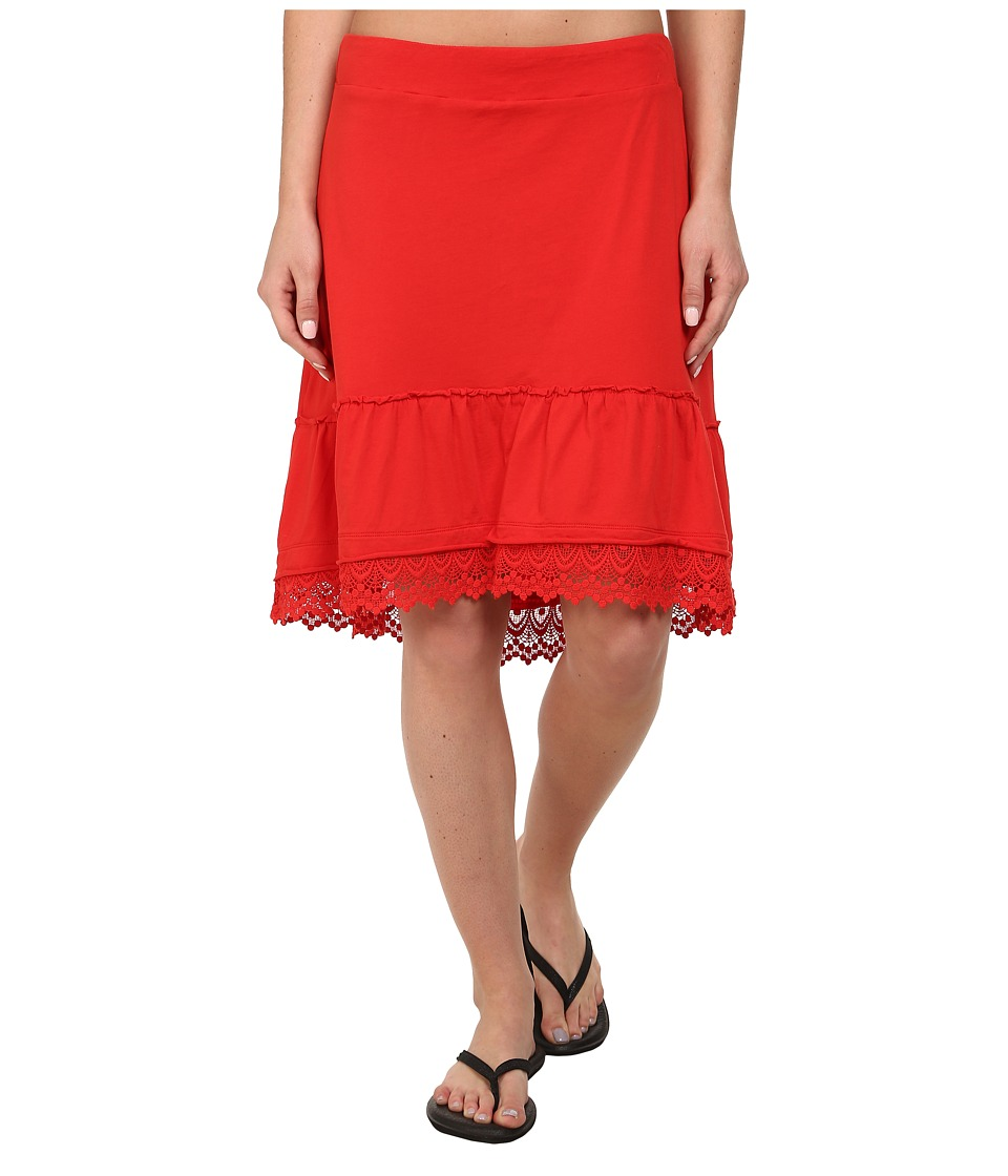 Prana Laine Skirt (Cherry Pop) Women