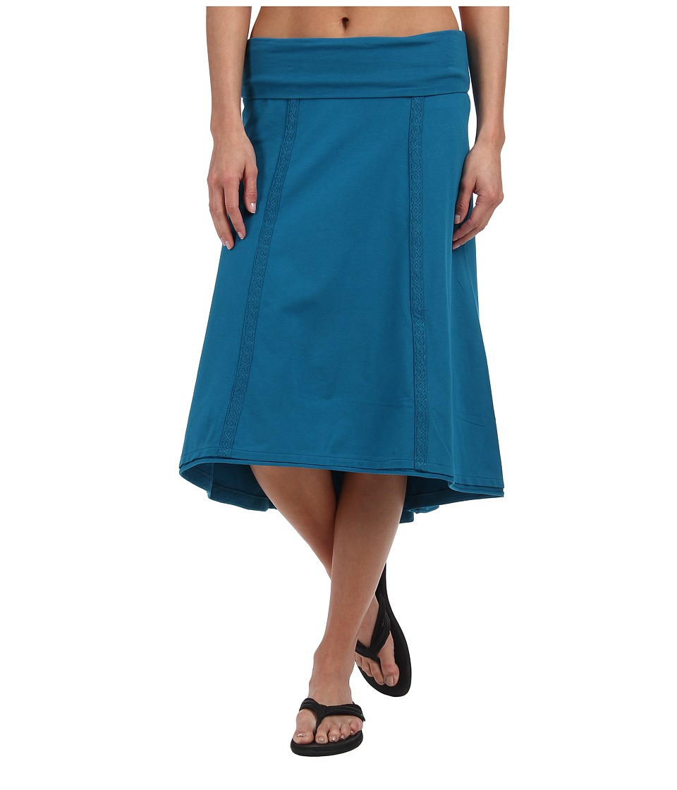 Prana - Tia Skirt (Mosaic Blue) Women's Skirt