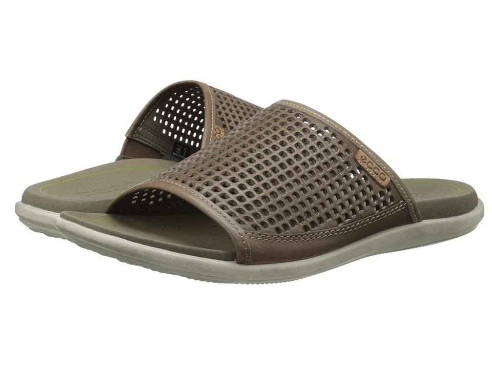 ECCO - Collin Sandal (Moon Rock/Whiskey) Men