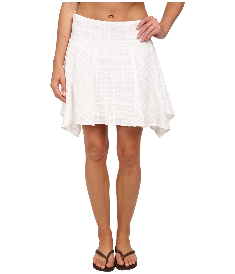 Prana Rhia Skirt (White) Women